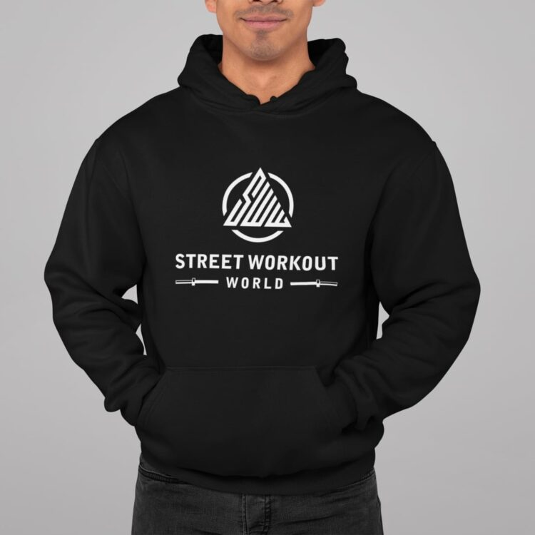 Street Workout World Hoodie Black
