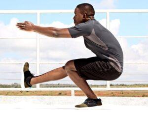 Pistol squat guide