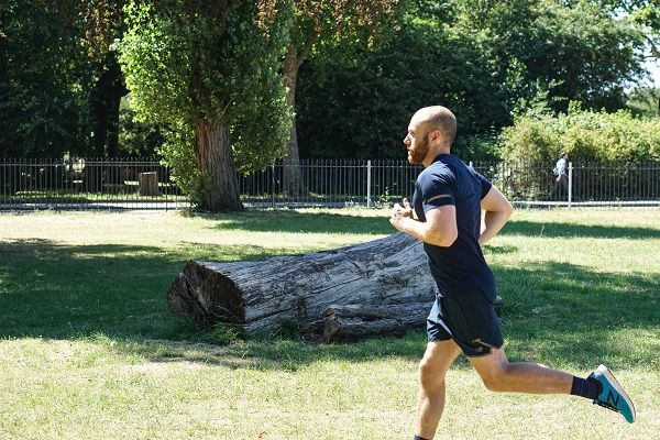 Cardio exercise and street workout