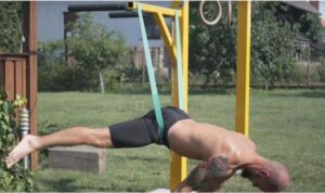 Resistance Band Planche