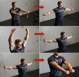 Resistance Band Stretches